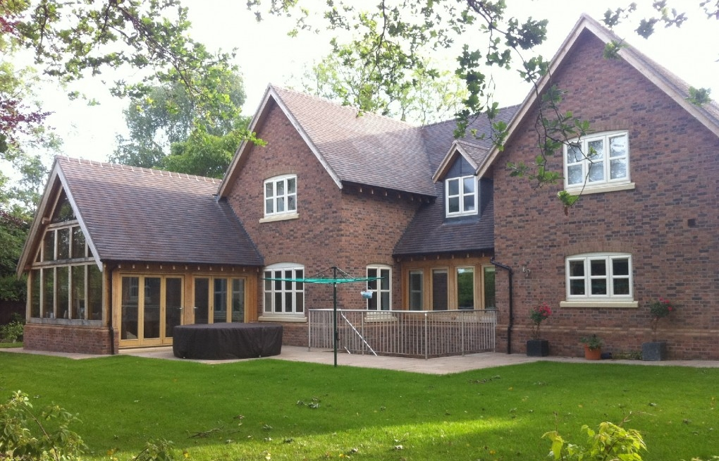 Bespoke New Build, Shrewsbury. Completed by L G Blower from start to finish.