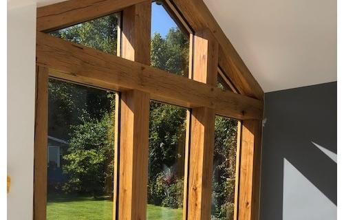 Oak Frame Extension, Telford