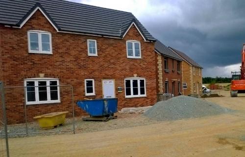 Fletchers, Gobowen - New Build Homes - Brickwork contract