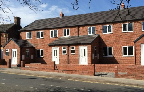 Madeley, Telford - New Build Homes - Brickwork contract