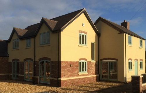 Bespoke New Build, Shropshire. All works carried out by L G Blower