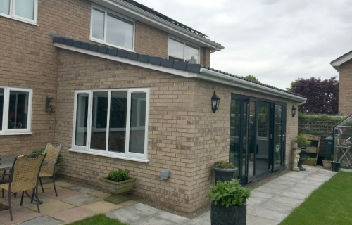 Removal of existing conservatory &  replaced Single Storey  extension, Shrewsbury