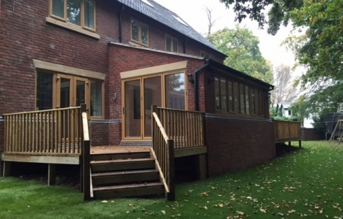 Rear Single Storey Extension and Refurbishment, featuring Under Floor Heating