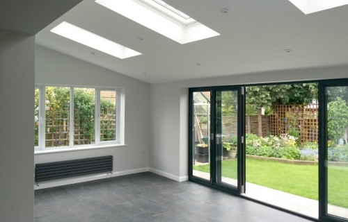 Rear Single Storey Extension featuring Bold Bifold Doors