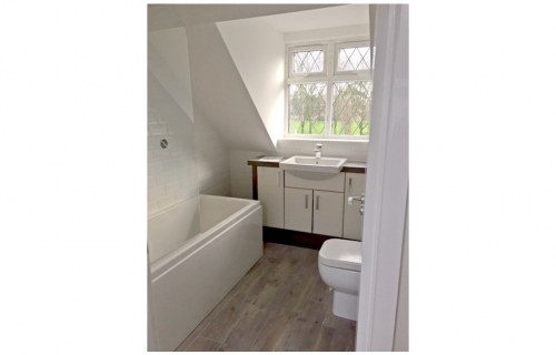 Bathroom Conversion - all works by LG Blower
