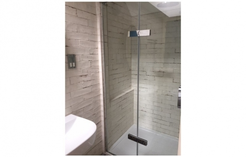 Ensuite Creation in Roof Space - with shower cubicle