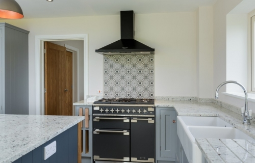 Bespoke kitchen with island