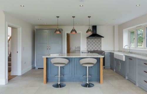 Bespoke kitchen dining area