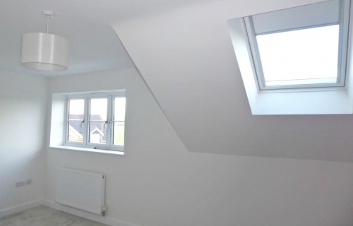 Double Bedroom with Velux Roof Light