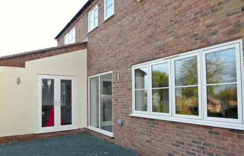 Bespoke New Build, Shrewsbury. All works carried out by L G Blower