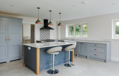 Kitchen Extension & Refurbishment -  featuring Under Floor Heating