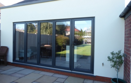 Rear Single Storey Extension and Refurbishment with Bifold Doors