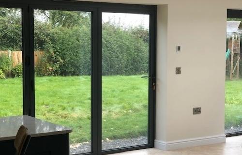 Bifold Doors featured in Extension, Shrewsbury