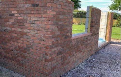 Brickwork, Shrewsbury, Shropshire