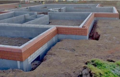 Footings for New Build, Shrewsbury, Shropshire